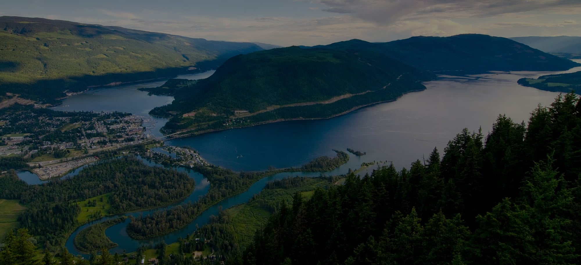 Homes for sale in the Okanagan, featuring Shuswap Lake